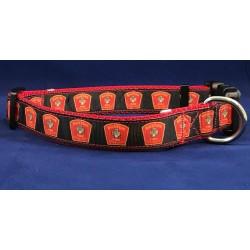 Boston Fire Dog Collars