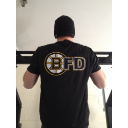 Moisture Wicking Hockey / Boston Fire Short Sleeve T-Shirt