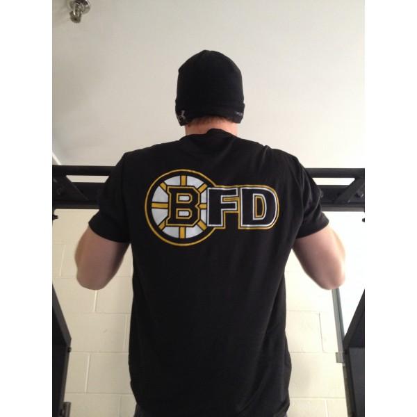 Moisture Wicking Hockey / Boston Fire Short Sleeve T-Shirt