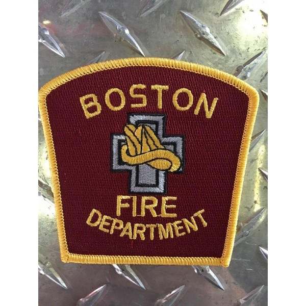 Boston Fire Department Patch